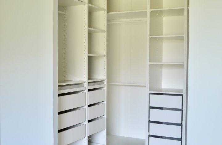 Inloopkast op maat voor een Ikeaprijs