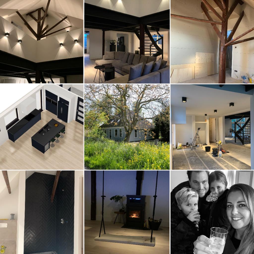 Verbouw inspiratie: 4 Instagrammers met een verbouwproject. Inspiratie voor verbouwers. 9 keer de verbouwing van @ptrcbkkr_home