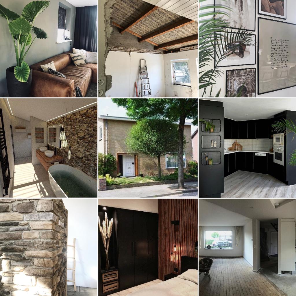 Verbouw inspiratie: 4 Instagrammers met een verbouwproject. Inspiratie voor verbouwers. 9 keer de verbouwing van @homebystuart