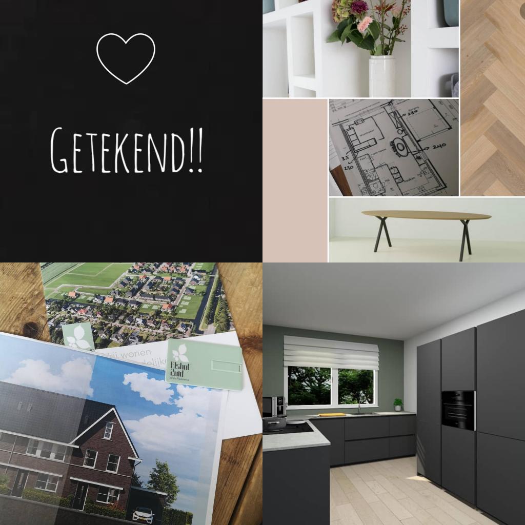 Instagrammers met een nieuwbouwhuis. Nieuwbouwwoning inspiratie van @hoekhuis_nr39