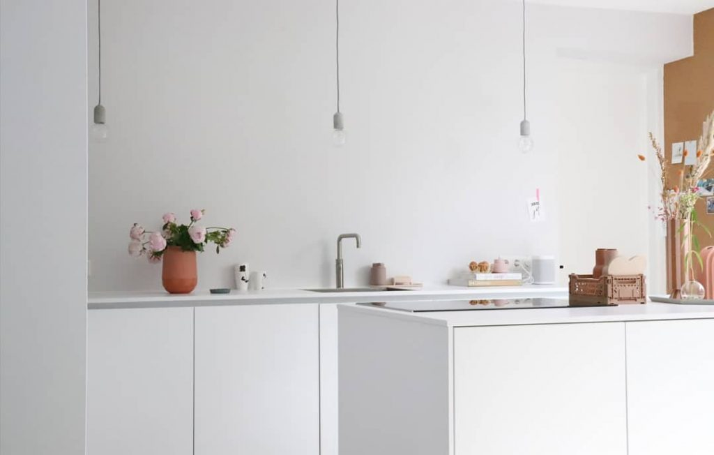 Keukeninspiratie 2021. Volledig witte keuken